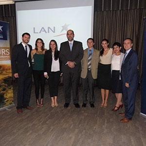 LAN presenta su catálago de viajes para el primer semestre de 2016