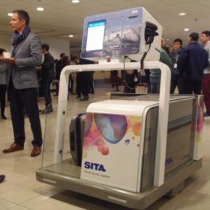 SITA. Leo, el innovador robot de gestión de equipaje se presentó en Chile