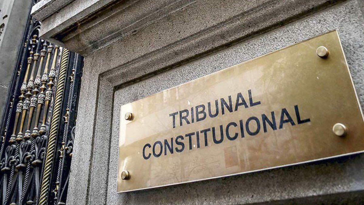 TC rechaza requerimiento del Gobierno