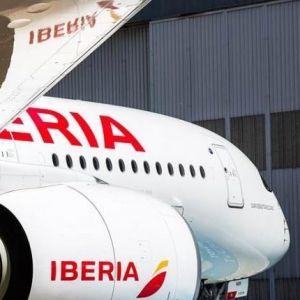IBERIA. Su avión más sustentable volará a Santiago