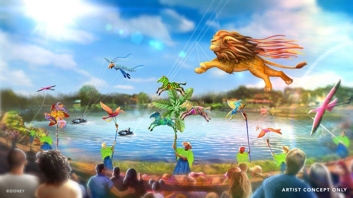 Disney Kite Tails debutará en el parque Disney´s Animal Kingdom.